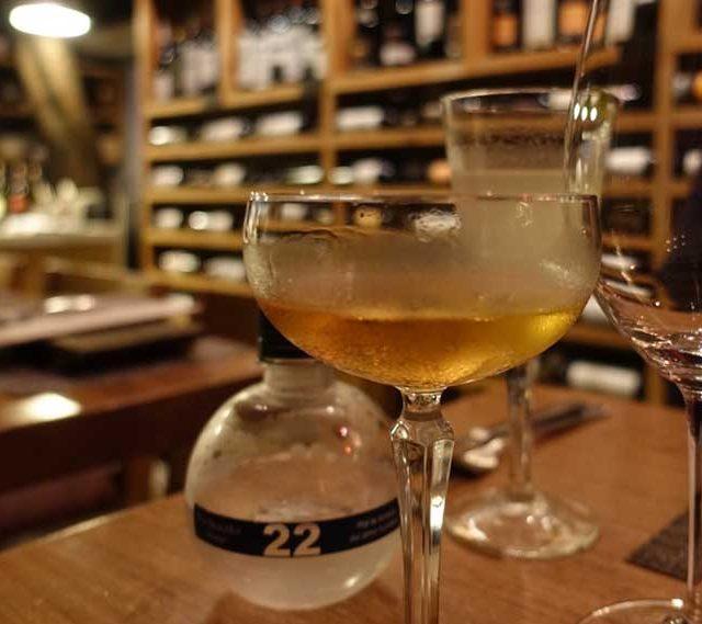"""Gin Cocktail Recipes """"Vesper Martini"""" by Soli Gin, Cyprus"""