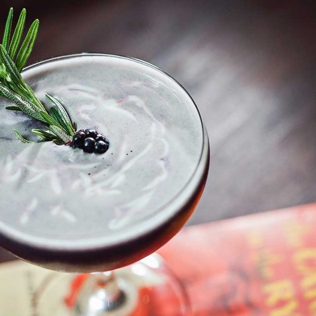 """Gin Cocktail Recipes """"Bramble"""" by Soli Gin, Cyprus"""