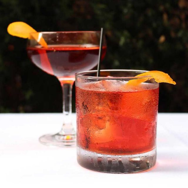 """Gin Cocktail Recipes """"Negroni"""" by Soli Gin, Cyprus"""