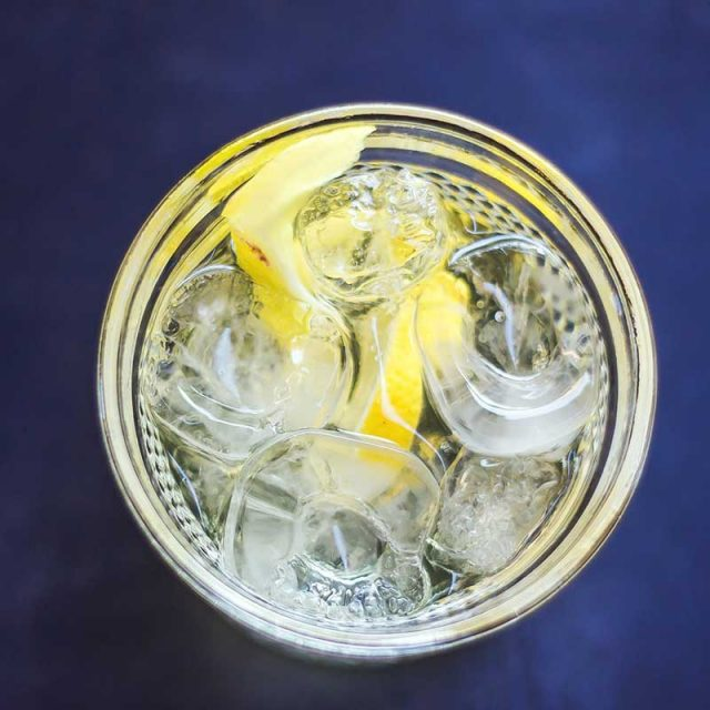 """Gin Cocktail Recipes """"White Negroni"""" by Soli Gin, Cyprus"""